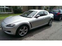 Mazda RX8 new MOT 45750 miles £2000