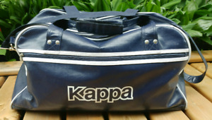 Vintage KAPPA Italian Dark Blue Duffle Gym Bag