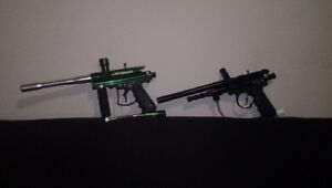 2 Paintball Guns plus extras