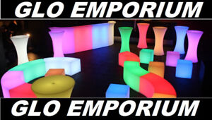 used led glow bar and funiture for sale