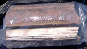 Sacs de bois de chauffage