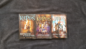 The keepers series by Lian Tanner 10$ Annerley Brisbane South West Preview