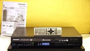 Panasonic CD, DVD Multi Disc Player Model DVD-F87 With Remote.