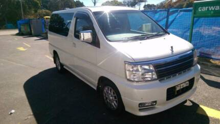 2001 Nissan Elgrand X Limited version Freshwater Manly Area Preview
