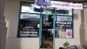 Nail and Spa salon for sale