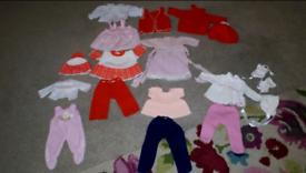 Dolls clothing bundles
