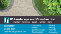 Landscaping, Concrete, Interlock, Decks, Fences, Retaining Walls