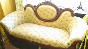 ANTIQUE SETTEE, LOVE SEAT