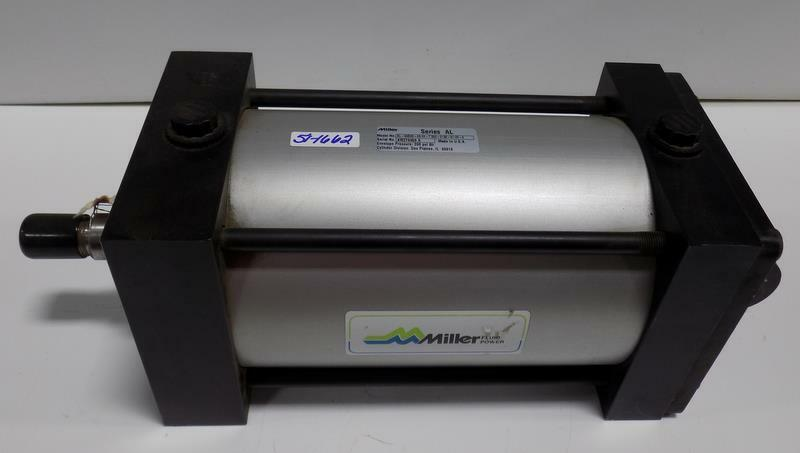 MILLER PNEUMATIC CYLINDER AL-84B2N-06.00-7.500-.138-N11M-0