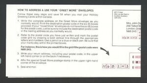 Stamps Canada BK95 - 1987 31¢ Greet More Booklet #1151