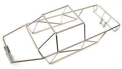 Traxxas E-Maxx 3908 3903 Polished Stainless Steel Full Roll Cage NEW by RC Raven