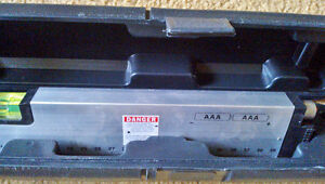 Never-Used 'Johnson' Laser Level & Tool in Black Plastic Case Kingston Kingston Area image 3