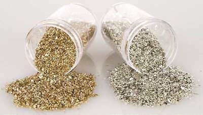 Stampendous Frantage Crushed Glass Glitter 1.41oz Silver 744019190092