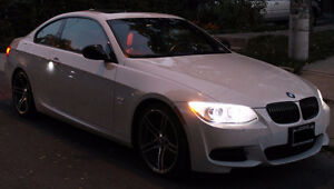 2011 BMW 335is Coupe | M Sport | Manual | White on Red