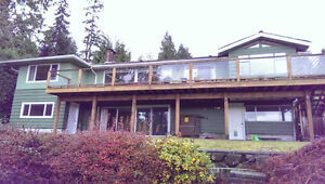 Single house with beautiful view In West Vancouver for renting