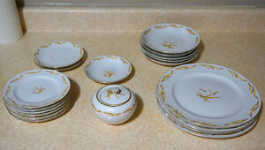 Moving sale: Assorted China plates and more!