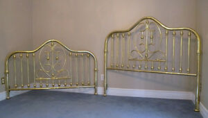 MOVING SALE --- Queen Size Brass Bed