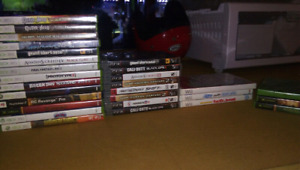 Assorted Games - Xbox 360, PS3, and Wii