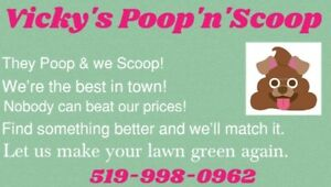 They Poop we Scoop and take it away