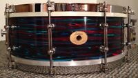 1920's Ludwig Solid Shell Snare 5x14  Gretsch Rogers Slingerland