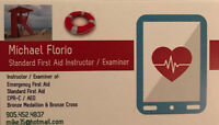 First Aid, CPR, HCP Training