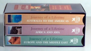 VHS – Journey of a Lifetime Series – 3 tapes