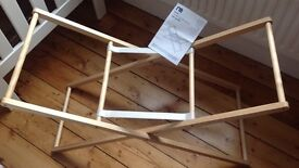 Three Mothercare Universal Moses Basket Stands
