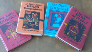 4 Vintage Smaller Hardcover Books: Amy Blanchard, early 1900s