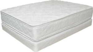 delivery included- like new queen mattress and boxspring