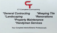 CT Complete Contracting...Your Interior/Exterior Professional