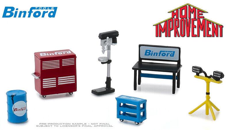 Greenlight Binford Tools - Shop Tools Set - Home Improvement