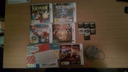 Nintendo 3ds with 11 games & charger Mordialloc Kingston Area Preview