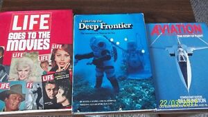 Coffee Table Books - the Movies - Diving - Aviation and more