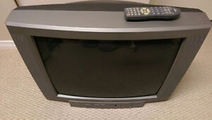 TV WITH REMOTE CONTROL