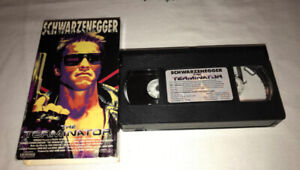 1991 TERMINATOR VHS Movie Cult Sci-fi Action Hemdale Release
