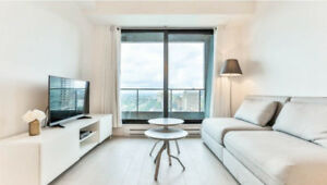 {  CONDO for rent   TOUR DES CANADIENS   FULLY FURNISHED   MTL }