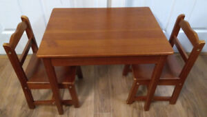 Kids Table and 2 Chairs (KidKraft)