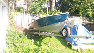 Starcraft 14ft aluminum fishing boat