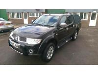 Mitsubishi L200 Double Cab Barbarian 2.5 DiD Euro 5 Long Body 2012 62 Black