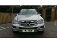MERCEDES-BENZ ML320 3.0TD CDI 7 G-Tronic SPORT IN SILVER