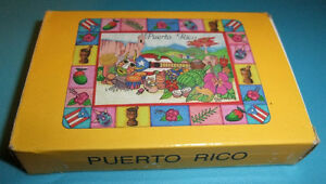 Spanish Playing Card Deck - Puerto Rico Design - 40 card deck