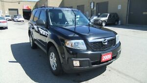 2009 Mazda Tribute AWD- Leather&Sunroof SUV, Crossover