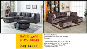 Large Reversible Sectionals
