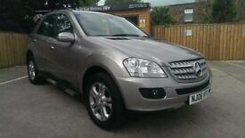 MERCEDES-BENZ ML320 3.0TD CDI 7 G-TRONIC SE CALCITE SILVER