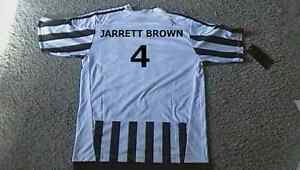kids soccer jerseys Euro Clubs, personalize gift - kids name on Belleville Belleville Area image 1