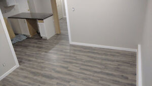 2 BR 1 BATH Brand New BASEMENT, in-suite laundry