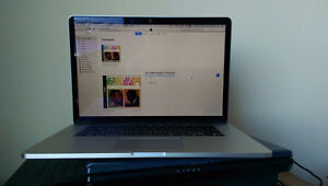 2015 (mid) Macbook Pro w/Retina Display