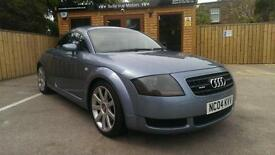 2004 AUDI TT COUPE 1.8 T ( 180bhp ) QUATTRO IN ARTIC BLUE