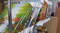 OIL PAINTINGS BLOWOUT SALE! No Reasonable Offer Refused