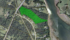 9 Acres With Ocean Frontage Minutes From St Andrews NB